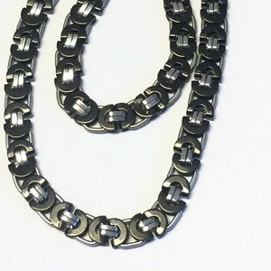 Other - Stainless Steel set of Necklace And Bracelet